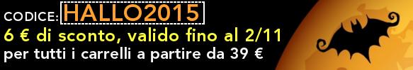 CODICE SCONTO 6€ HALLO2015